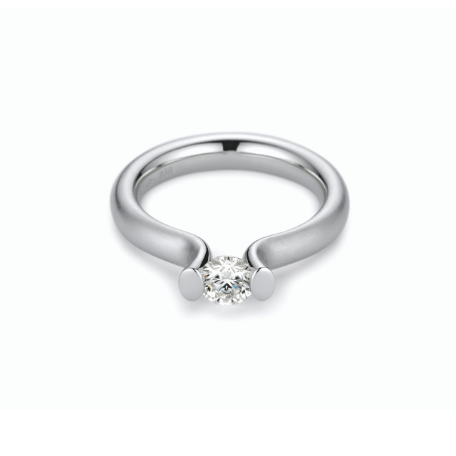 Niessing Spannring Heaven 0,71ct Platin