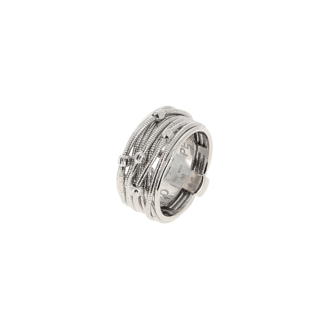 Pesavento Ring DNA Spring aus Silber
