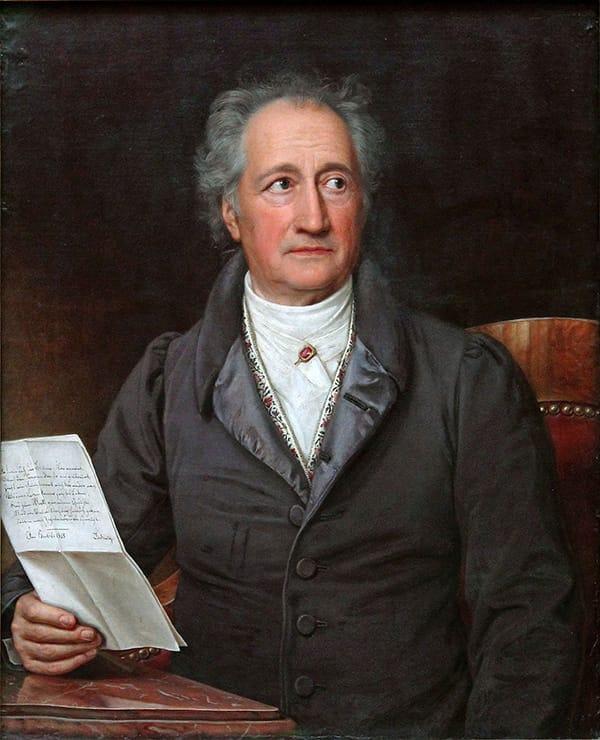 Portrait von Johann Wolfgang von Goethe