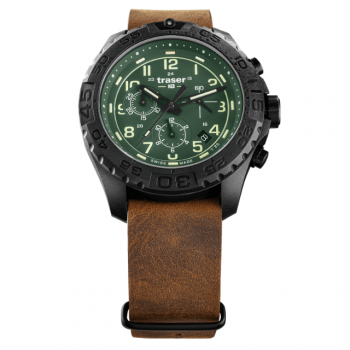 Traser H3 P96 OdP Evolution Chrono Green 109047