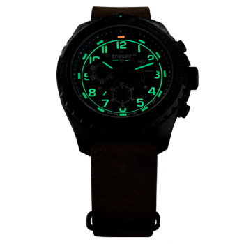 Traser H3 P96 OdP Evolution Chrono Green Abend
