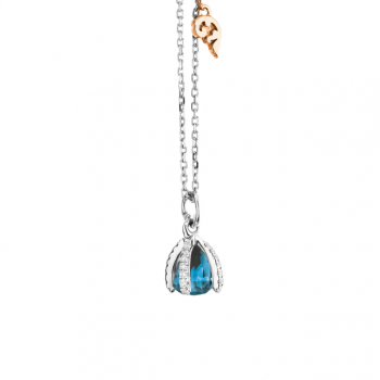 Capolavoro Collier Capriccio London Blue Topas