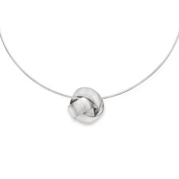 Bastian Anhänger Knoten Silber 22071