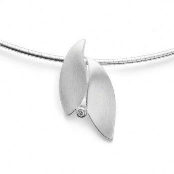 Bastian Anhänger Silber mit Diamant 28051