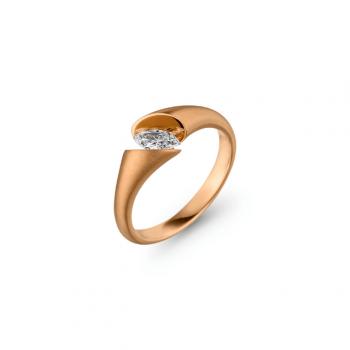 Schaffrath Ring Calla Fantasie 0,21ct Navette
