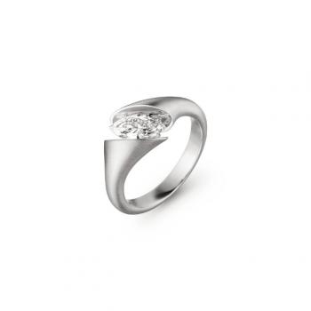 Schaffrath Ring Calla Fantasie 0,31ct Navette