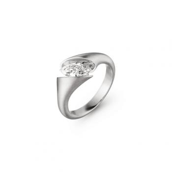 Schaffrath Ring Calla Fantasie 0,38ct Navette