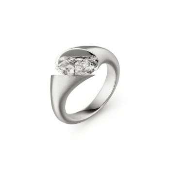 Schaffrath Ring Calla Fantasie 0,75ct Navette