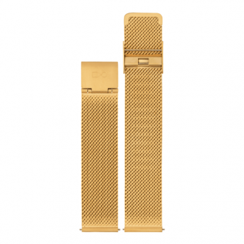 WALTER GROPIUS Mesh Band 18mm gold
