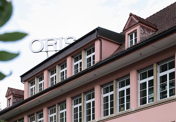 Oris SA in Hölstein, Schweiz