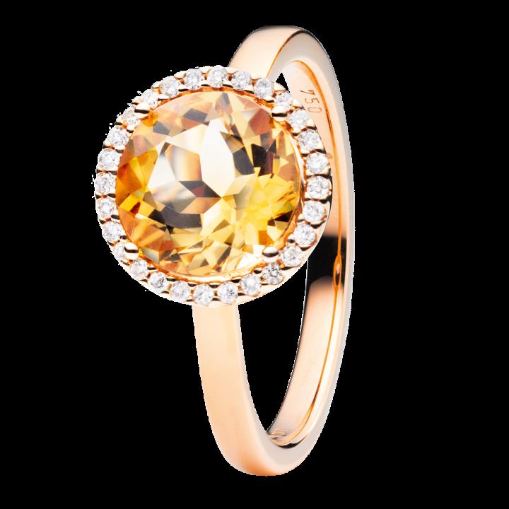 Capolavoro Ring Espressivo Citrin