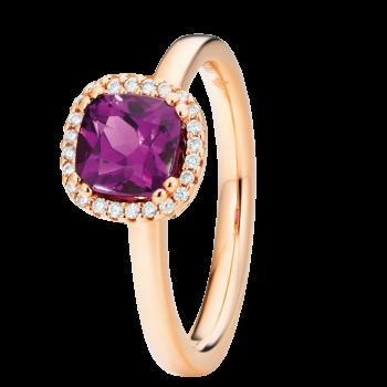 Capolavoro Ring Espressivo Granat Purple