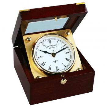 Mühle Glashütte Tischuhr Yacht-Chronometer Luxus