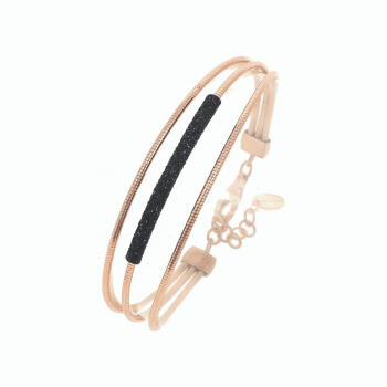 Pesavento Armband DNA rosévergoldet WDNAB205