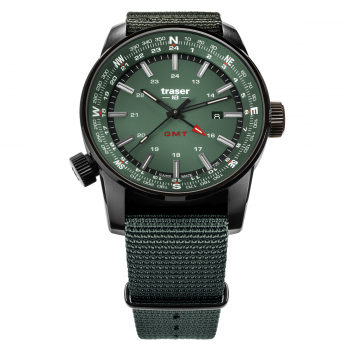 Traser H3 P68 Pathfinder GMT Green 109035