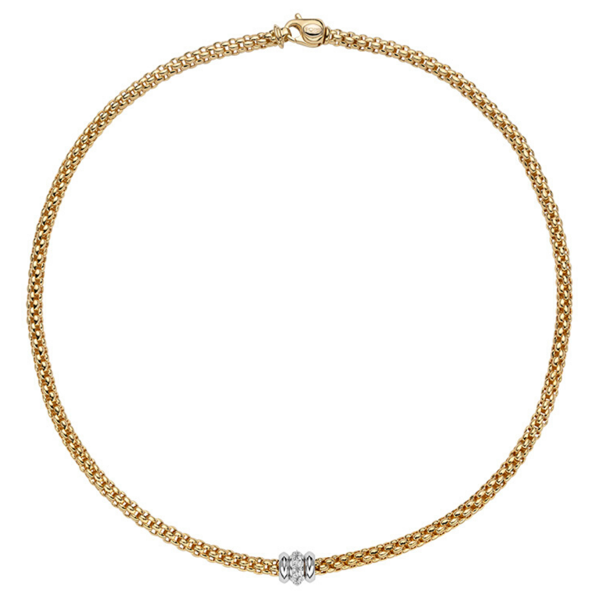 FOPE Collier in Gelbgold
