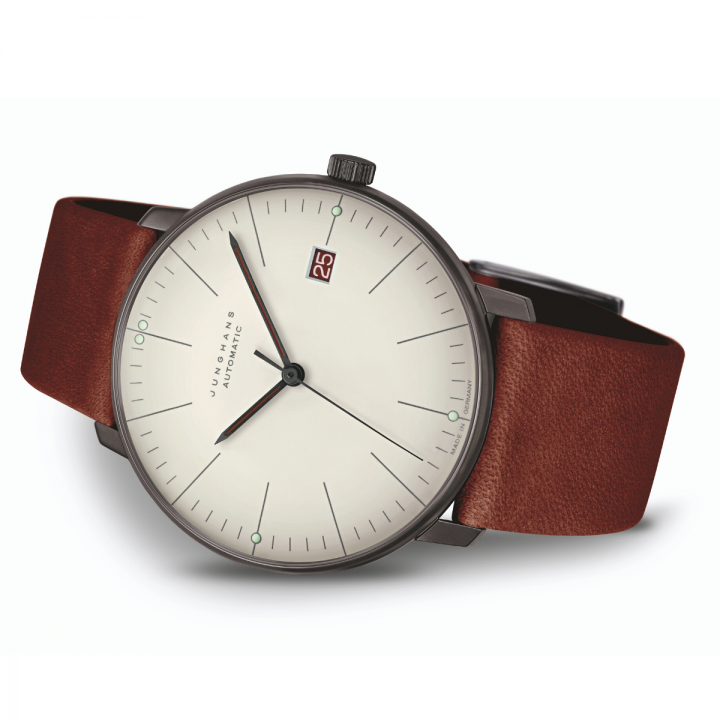 Junghans max bill Sonderedition Bauhaus Weimar liegend