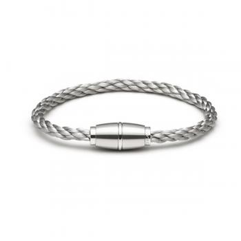 Monomania Armband Edelstahl geflochten 45870D01