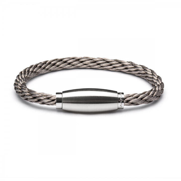 Monomania Armband Edelstahl geflochten 45880J51