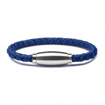 Monomania Armband Polyamid geflochten blau 45880F52