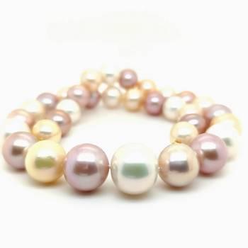 Ming Perlenkette multicolor 11,5-13,5