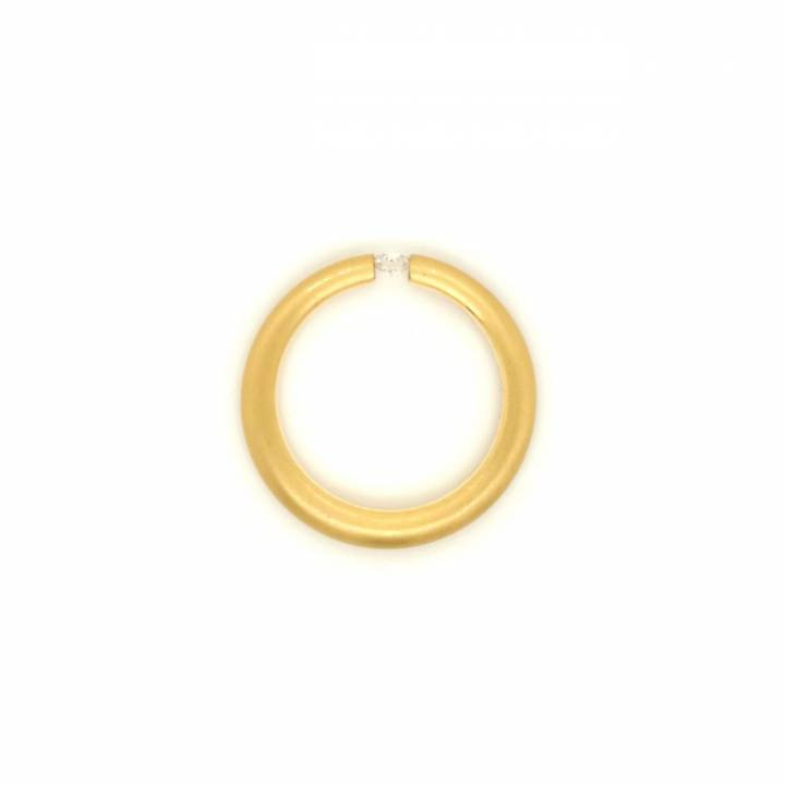 Niessing Spannring Antares 0,12ct Gelbgold