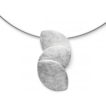 Bastian Anhänger Silber kratzmatt 31201