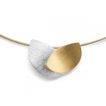 Bastian Anhänger Silber teilvergoldet 29201