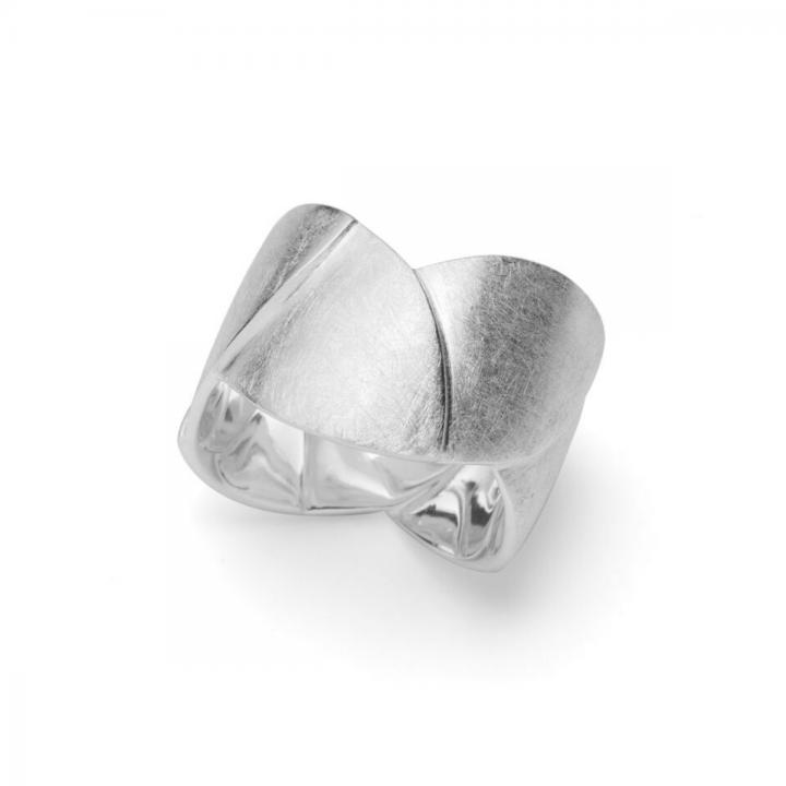 Bastian Ring Silber kratzmatt 31101