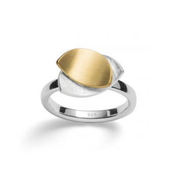 Bastian Ring Silber teilvergoldet 29301