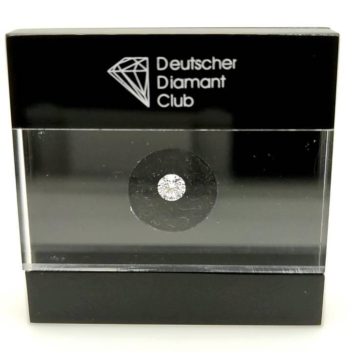 0,41ct Brillant Anlage Diamant