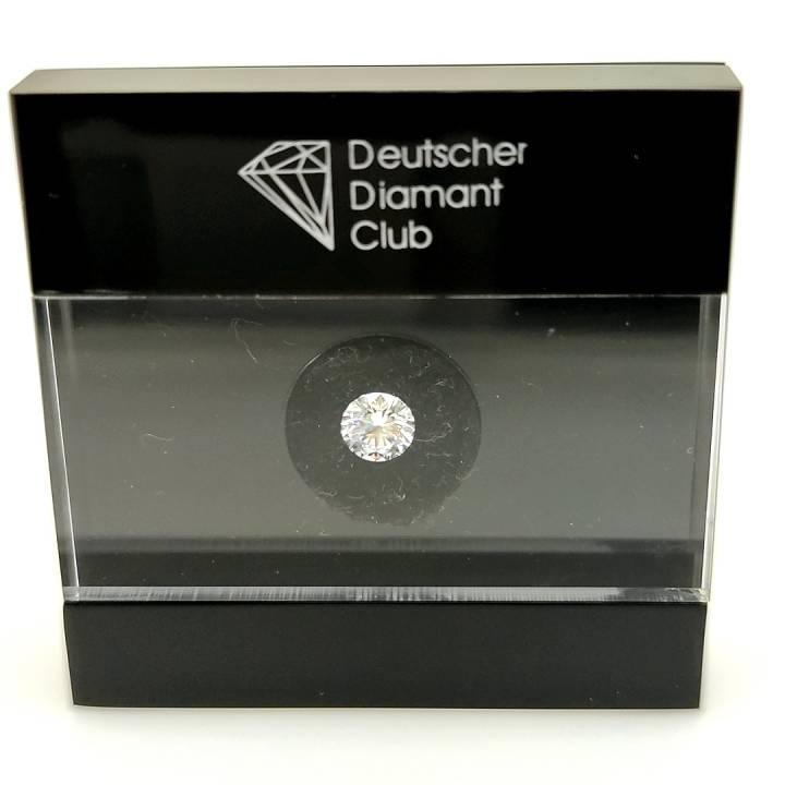 0,71ct Brillant Anlage Diamant