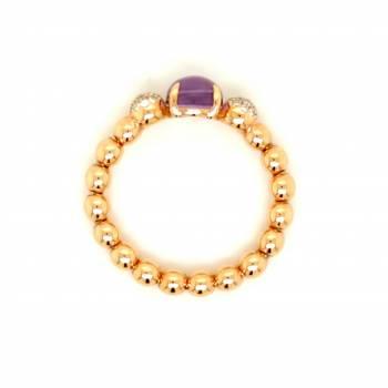 Amethyst Brillant Ring