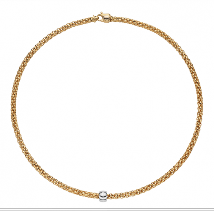 Fope Collier Solo 634C Gelbgold