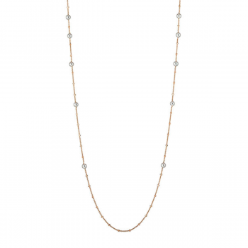 Gellner Collier Delight lang Roségold 5-23021-01