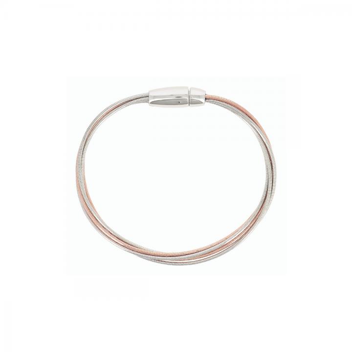 Pesavento Armband bicolor 5-reihig DNA Spring (WDNAB370)