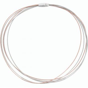 Pesavento Collier bicolor 5-reihig DNA Spring (WDNAG471)