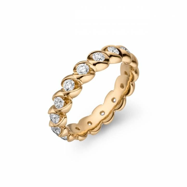 Schaffrath Calla Memoire Ring 0,96ct Gelbgold