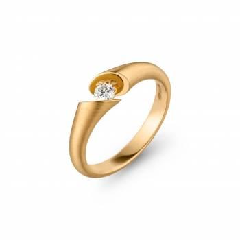 Schaffrath Ring Calla 0,15ct Gelbgold