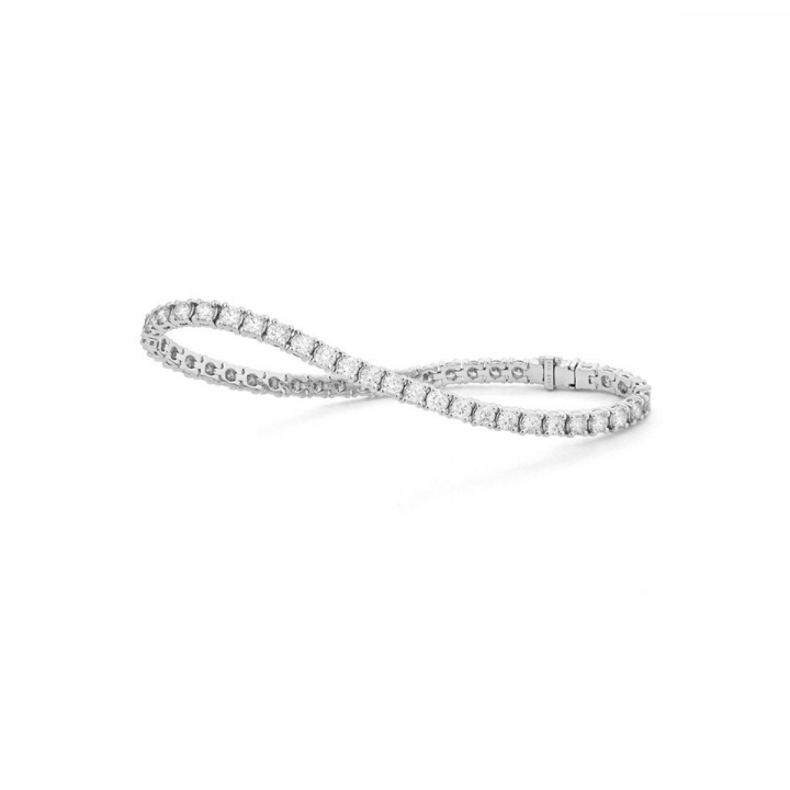 Brillant Armband Tennisarmband 1,00ct Weißgold