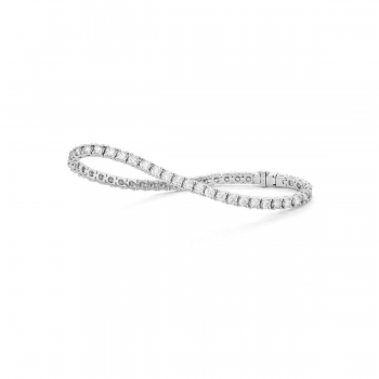 Brillant Armband Tennisarmband 2,00ct Weißgold