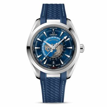 Omega Seamaster Aqua Terra 150M Co-Axial Master Chronometer GMT Worldtimer 43 mm (220.12.43.22.03.001) Herrenuhr