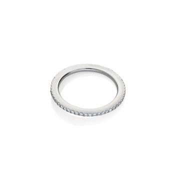 schmuckwerk Memoire Ring 0,28ct Weißgold GT605WG