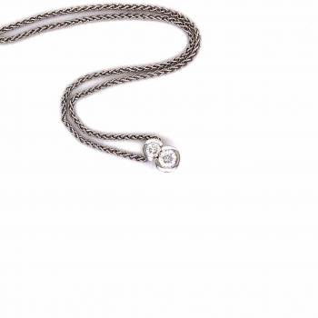 Brillant Collier 0,39ct