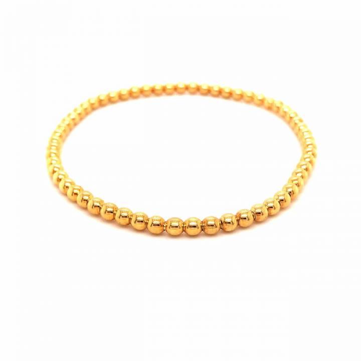 Kugelarmband 18kt Gelbgold