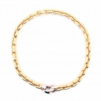 Armband 19 cm Gelbgold