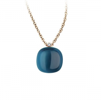 BIGLI Collier Mini Sweet London Blue Lake
