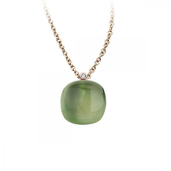BIGLI Collier Mini Sweety Green Aventurine For Ever