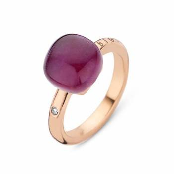 BIGLI Ring Mini Sweety Amethyst Blush