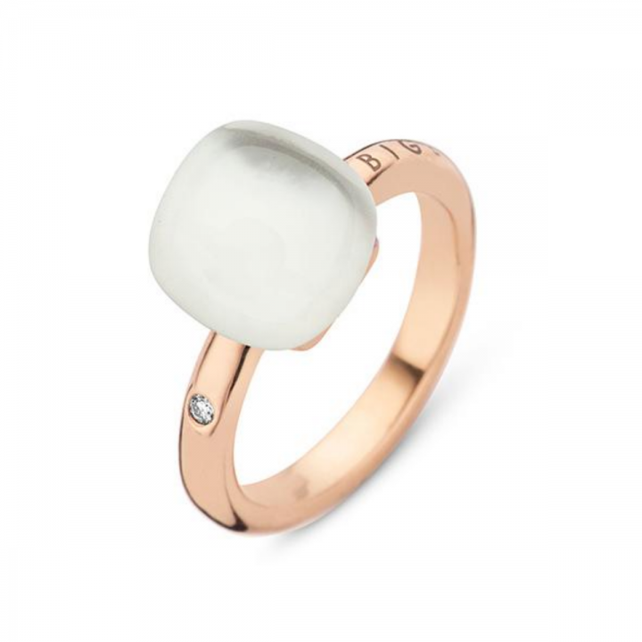 BIGLI Ring Mini Sweety Crystal Clear White
